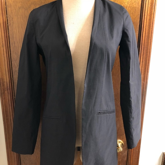 4a6426ddbb0 Eileen Fisher Jackets & Blazers - Eileen Fisher Women's Black Silk Blazer  Size 2
